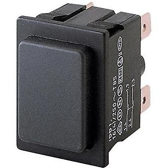 Pushbutton 250 Vac 16 A 2 x Off/(On) Marquardt 1661.0101 IP40 momentary 1 pc(s)