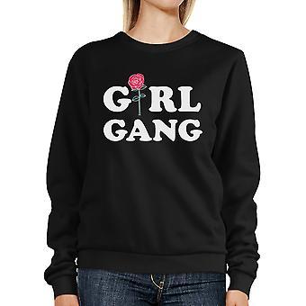 Girl Gang Sweatshirt Trendy Pullover Fleece For Teenage Girls