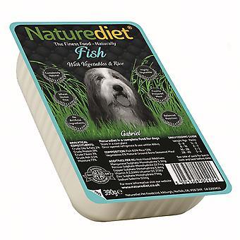 Naturediet fisk med kartoffel & ris 390g (pakke med 18)