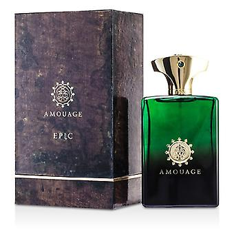 Epic de Amouage Eau De Parfum Spray 100ml / 3.4 oz