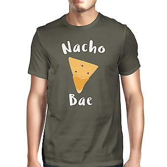 Nocho Bae mannen donkere T-shirt van de grijze creatieve ideeën van de verjaardagsgift