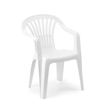 Cladellas  White Monobloc armchair Altea (Outdoor , Garden Toys , Tables And Chairs)