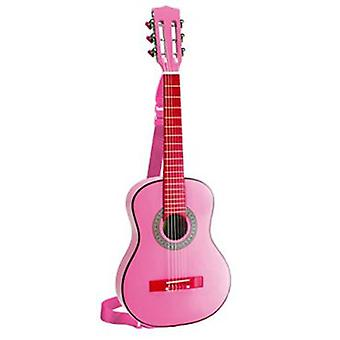 Bontempi Wooden Guitar Rosa 75 Cm With Tape
