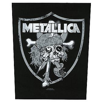 Metallica Skull Raiders Back Patch