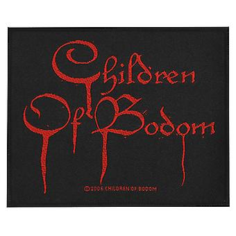 Children Of Bodom sangue Logo tessuto Patch
