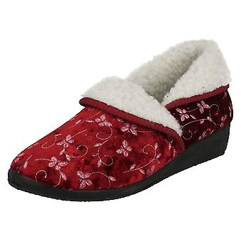 Ladies Four Seasons House Slippers Edith