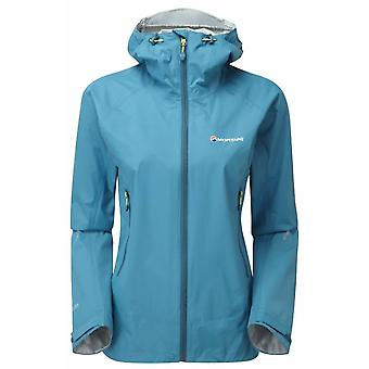 Montane Womens Atomic Jacket Zanskar Blue (Size UK 12)