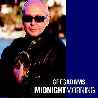 Greg Adams - midnatt morgon [CD] USA import