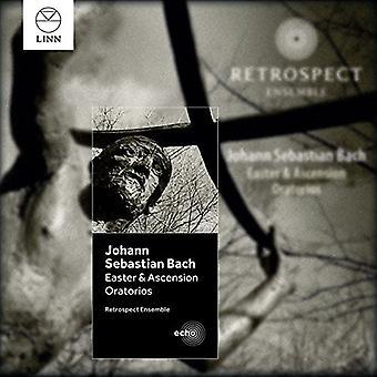 Retrospect Ensemble - J.S. Bach: Påske & Ascension oratorier [CD] USA importerer