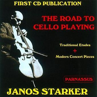 Janos Starker - vejen til Cello spille [CD] USA import