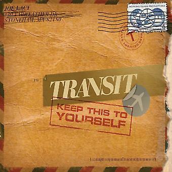 Transit - holde det for dig selv [CD] USA import