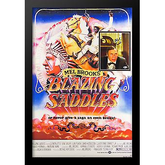 Blazing Saddles - Signed Photo in Movie Poster