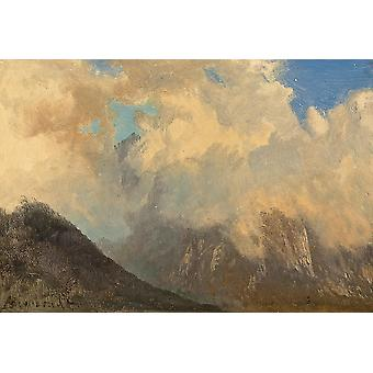 Albert Bierstadt - In the Tyrol Poster Print Giclee