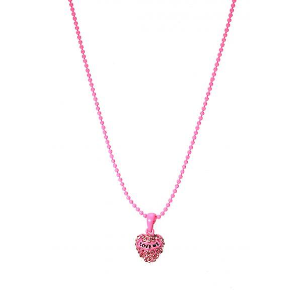 W.A.T Sparkling Crystal 'Love Me' Pendant