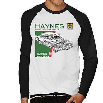 Haynes Owners Workshop Manual 0025 Ford Zodiac mannen honkbal lange mouwen T-Shirt