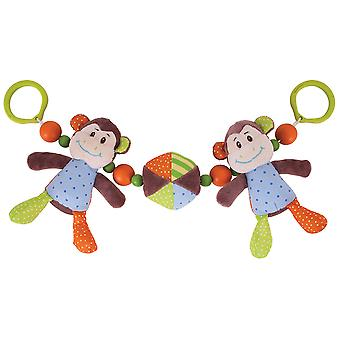 Bigjigs Toys frecher Affe Kinderwagen String