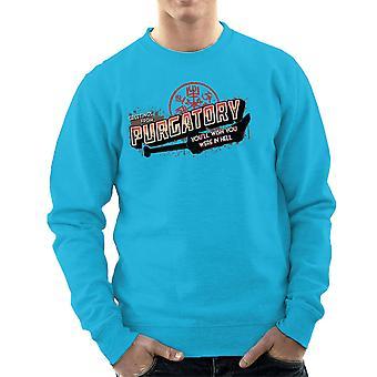 Supernatural Greetings From Purgatory Men's Sweatshirt