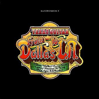 T-Bone Walker & Various - Texas Guitar: From Dallas to L.a. [CD] USA import