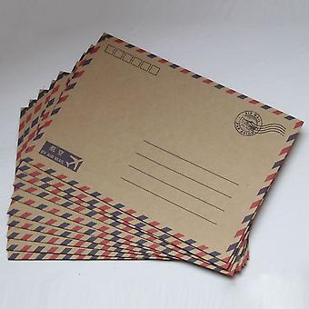 Vintage Style Airmail Envelopes x 10 Wedding / Craft Parties / Favours