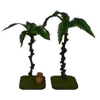 Palm Dekopalmen with feet for Nativity scene Christmas Nativity stable Nativity accessories