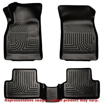 Husky Liners 98161 Black WeatherBeater Front & 2nd Seat FITS:CHEVROLET 2011 - 2