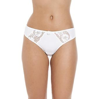 Camille Lingerie Lace Thongs Womens White Underwear