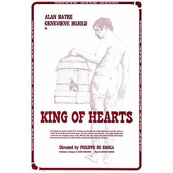 The King of Hearts Movie Poster (11 x 17)