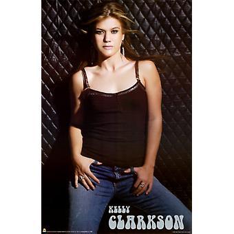 Kelly Clarkson Poster Print plakat przez