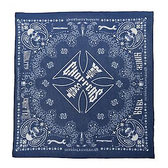 West Coast choppers bandana handcrafted dark blue