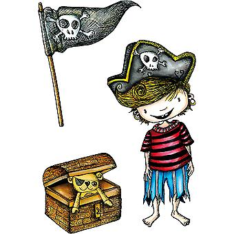 Carabelle Studio Cling Stamp A6 By La Rafistolerie-Nice Pirate SA60314