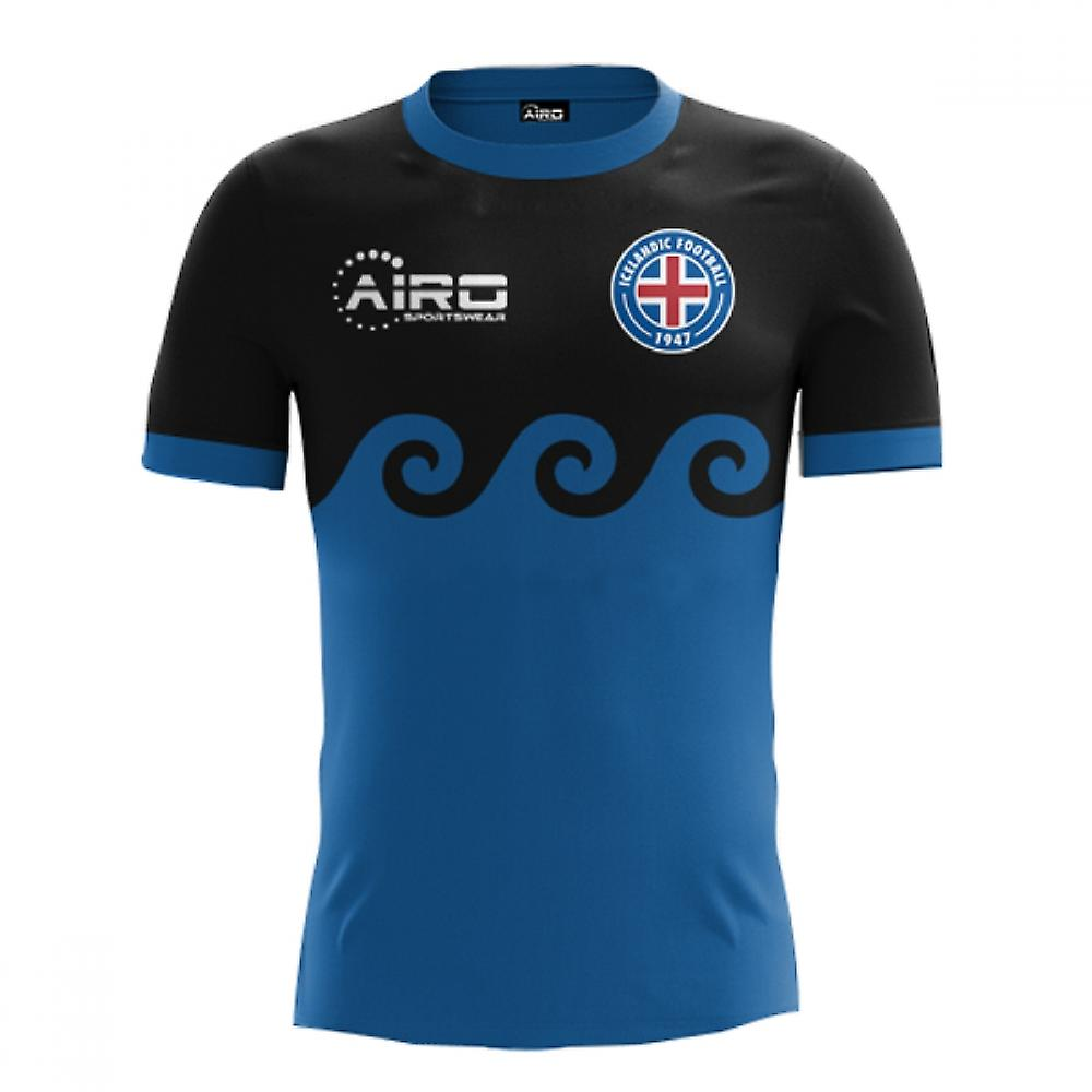 2018-2019 Iceland Third Concept Football Shirt (Kids)