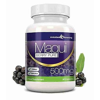 Maqui Berry Antioxidant Supplement 500mg Capsules - 90 Capsules - Antioxidant - Evolution Slimming