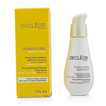 DECLEOR Hydra Floral blanc pétale camomille romaine peau perfection hydratante Lotion laiteuse - 50ml/1. 7 oz