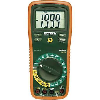 Handheld multimeter Digital Extech EX410A Calibrated to: Manufacturer's standards (no certificate) CAT III 600 V Displa