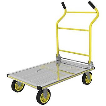 Flatbed trolley foldable Aluminium Load capacity (max.): 300 kg