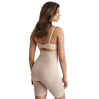 Naomi and Nicole 7429 Women's Shapewear Nude Solid Colour High Waist Brief