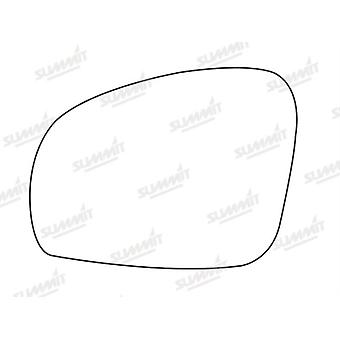 Left Stick-On Mirror Glass Easy to Fit For Skoda Fabia 2006-2015