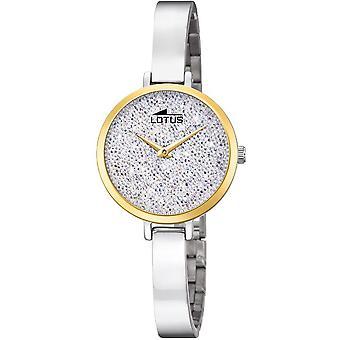 LOTUS - tendencia de las señoras reloj de pulsera - 18562/1 - bienaventuranza-