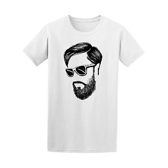 Hipster Rman Hair And Beards Tee Men's -Image by Shutterstock