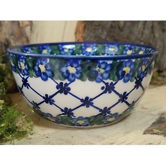 Salatschüssel, Ø 13 cm, Höhe 6 cm, Unikat 53, Bunzlauer Keramik - BSN 6744