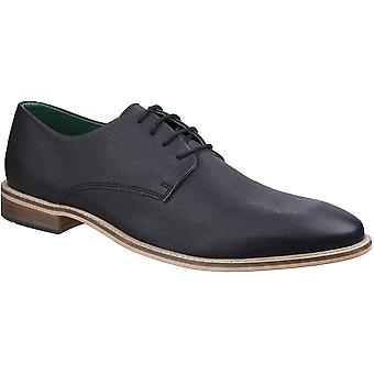 Lambretta Mens Scotts Brogue King Lace Up Leather Durable Oxford Shoes