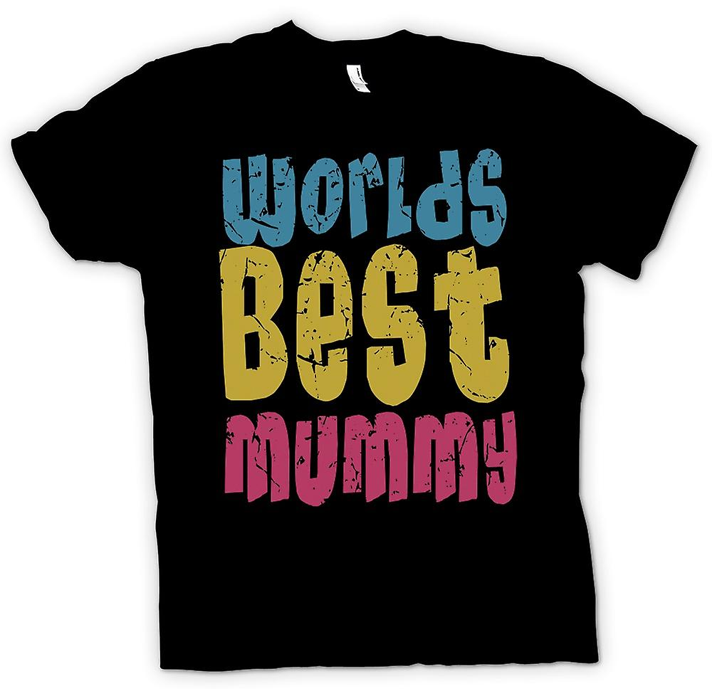 Kids T-shirt - Worlds Best Mummy - Funny