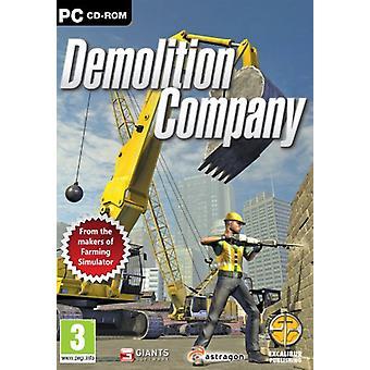Nedrivning selskab (PC CD)