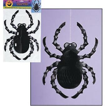 Dekoration hængende Glitter Spider dekoration