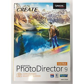 CyberLink Photo Director 9 Ultra - completar ajuste de foto y diseño (PC y Mac)