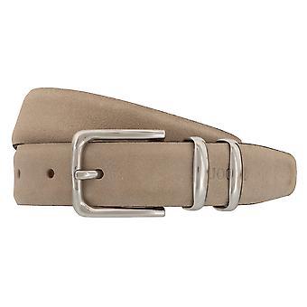 JOOP! Belts men's belts leather cream/beige 2313