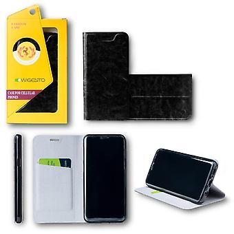 Flip / Smart Cover Schwarz für Xiaomi Redmi Note 4 4X Schutzhülle Cover Etui Tasche Hülle Neu Case