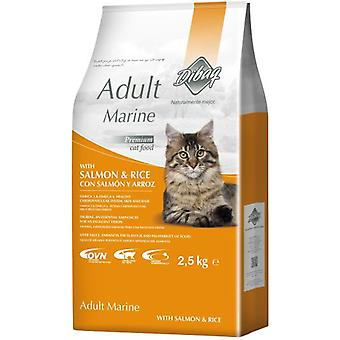Dibaq Cats Dnm Adult Marine Salmon & Rice  (Cats , Cat Food , Dry Food)
