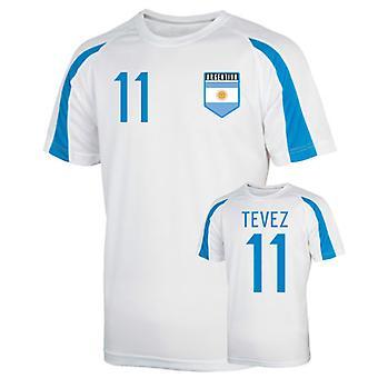 Argentina Sports Training Jersey (tevez 11)