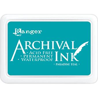 Archival Ink Pad #0-Paradise Teal